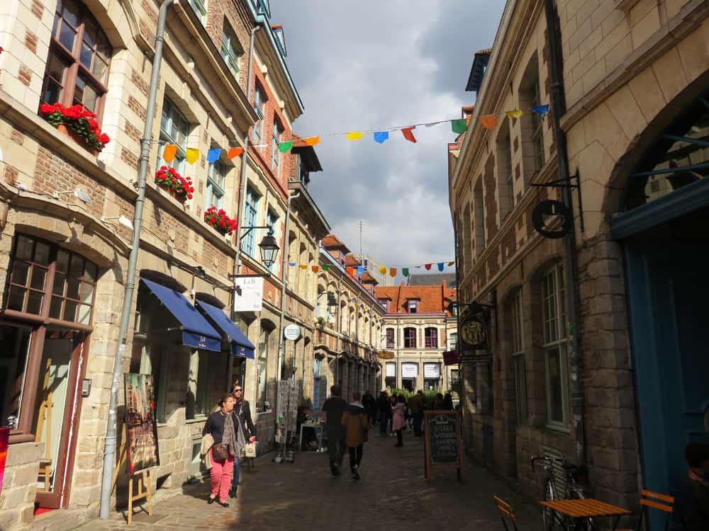Que voir que faire depuis la gare de Lille : le Vieux Lille © voyagerentrain.fr