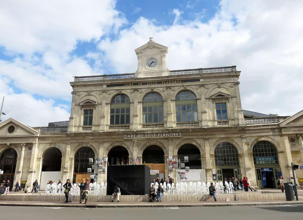 Que voir que faire depuis la gare de Lille ? © voyagerentrain.fr