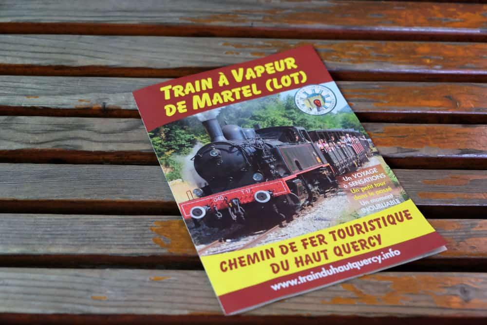 Le train à vapeur de Martel - Chemin de fer touristique du Haut-Quercy © voyagerentrain.fr