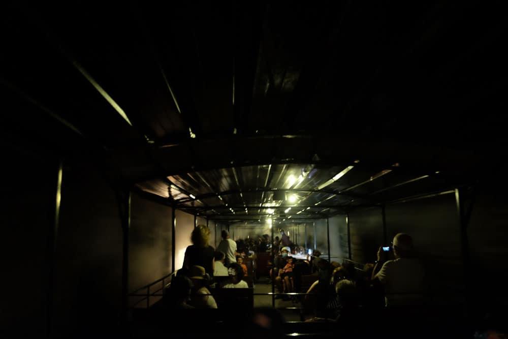 Le train à vapeur de Martel : passage dans les tunnels © voyagerentrain.fr